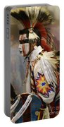 Pow Wow First Nation Dancer Portable Battery Charger