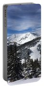 Powder Day On The Pass Portable Battery Charger