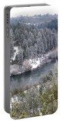 Powdered Spokane River Portable Battery Charger