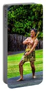 Powhiri Welcome Portable Battery Charger
