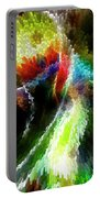 Powwow Dancer Abstract Portable Battery Charger
