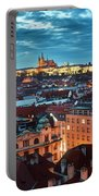 Prague At Night Portable Battery Charger
