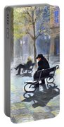 Prague Autumn Ray Portable Battery Charger