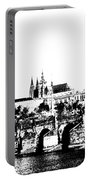 Prague Castle And Charles Bridge Portable Battery Charger