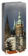 Prague Castle Complex Portable Battery Charger