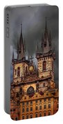 Prague Cathedral Portable Battery Charger