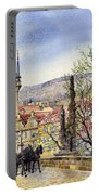 Prague Charles Bridge Spring Portable Battery Charger
