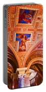 Prague Church Ceiling Portable Battery Charger