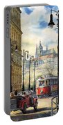 Prague Kaprova Street Portable Battery Charger