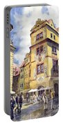 Prague Karlova Street Hotel U Zlate Studny Portable Battery Charger