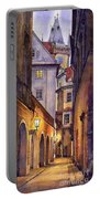Prague Old Street  Portable Battery Charger