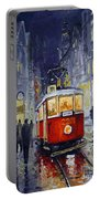 Prague Old Tram 06 Portable Battery Charger