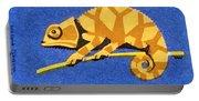 Prague Zoo Chameleon Matchbox Label Portable Battery Charger