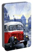 Praha Rnd Bus 1950 Skoda 706 Ro Portable Battery Charger