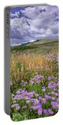 Prairie Blooms Portable Battery Charger