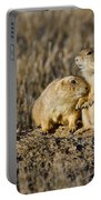 Prairie Dog Couple Portable Battery Charger