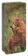 Prairie Dog Feeding Portable Battery Charger