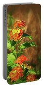Prairie Flowers Portable Battery Charger