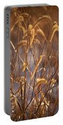 Prairie Grass Blades Portable Battery Charger