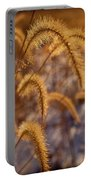 Prairie Grass Detail Portable Battery Charger