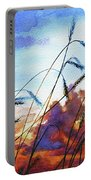 Prairie Sky Portable Battery Charger by Hanne Lore Koehler