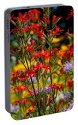 Prairie Wildflowers 2 Portable Battery Charger