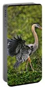 Prancing Heron Portable Battery Charger