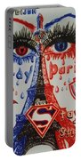 Pray For Paris Portable Battery Charger