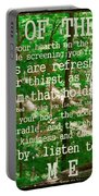 Prayer Of The Woods 2.0 Portable Battery Charger
