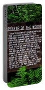 Prayer Of The Woods Portable Battery Charger
