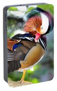 Preening Duck Portable Battery Charger