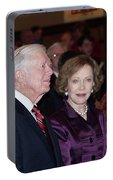 President And Mrs. Jimmy Carter Nobel Celebration Portable Battery Charger