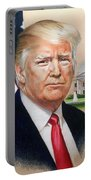 President Donald Trump Art Portable Battery Charger