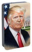President Donald Trump Art Portable Battery Charger