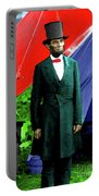 President Lincoln Portable Battery Charger