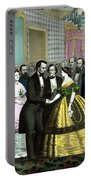 President Lincoln's Last Reception Portable Battery Charger