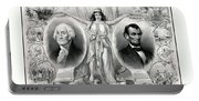 Presidents Washington And Lincoln Portable Battery Charger