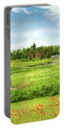 Pretty Countryside Portable Battery Charger