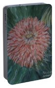 Pretty Dahlia Portable Battery Charger