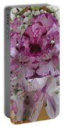 Pretty In Purple Portable Battery Charger