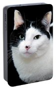 Pretty Kitty Cat 1 Portable Battery Charger