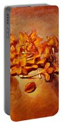 Pretty Little Orange Flowers - Kankaambaram Portable Battery Charger