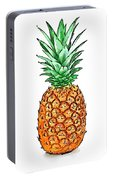 Pretty Pineapple II Portable Battery Charger