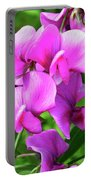Pretty Pink Sweetpea  Portable Battery Charger