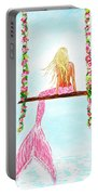 Pretty Pink Swing Portable Battery Charger