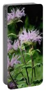 Pretty Purple Portable Battery Charger