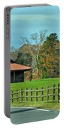 Pretty Scene In The Hills  Portable Battery Charger