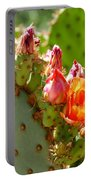 Prickly Pear Blooms Portable Battery Charger