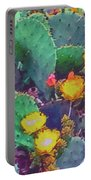 Prickly Pear Cactus 2 Portable Battery Charger