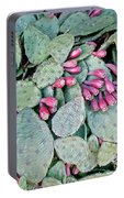 Prickly Pear Cactus Fruits Portable Battery Charger